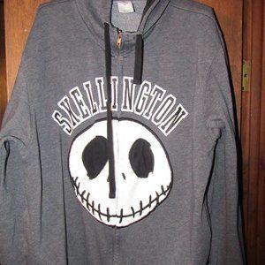 Skellington Hooded Sweat Jacket